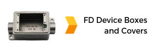 Stainless Steel FD Device Boxes and Covers