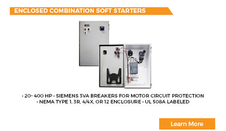 Enclosed Combination Soft Starters